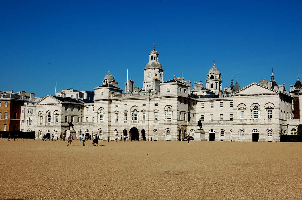 Londres - Horse guard - Photos: Lankaart (c)