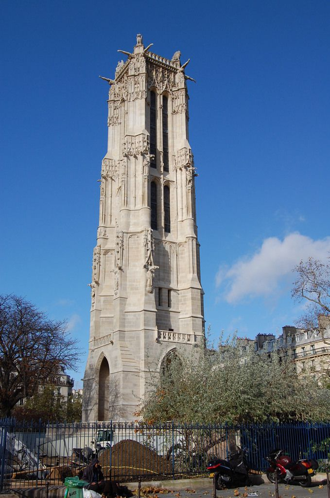 Paris - Tour Saint-Jacques - Photos: Lankaart (c)