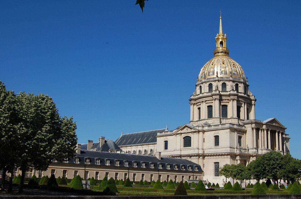 Jules Hardouin-Mansart - Eglise des Invalides - Paris - Photos: Lankaart (c)