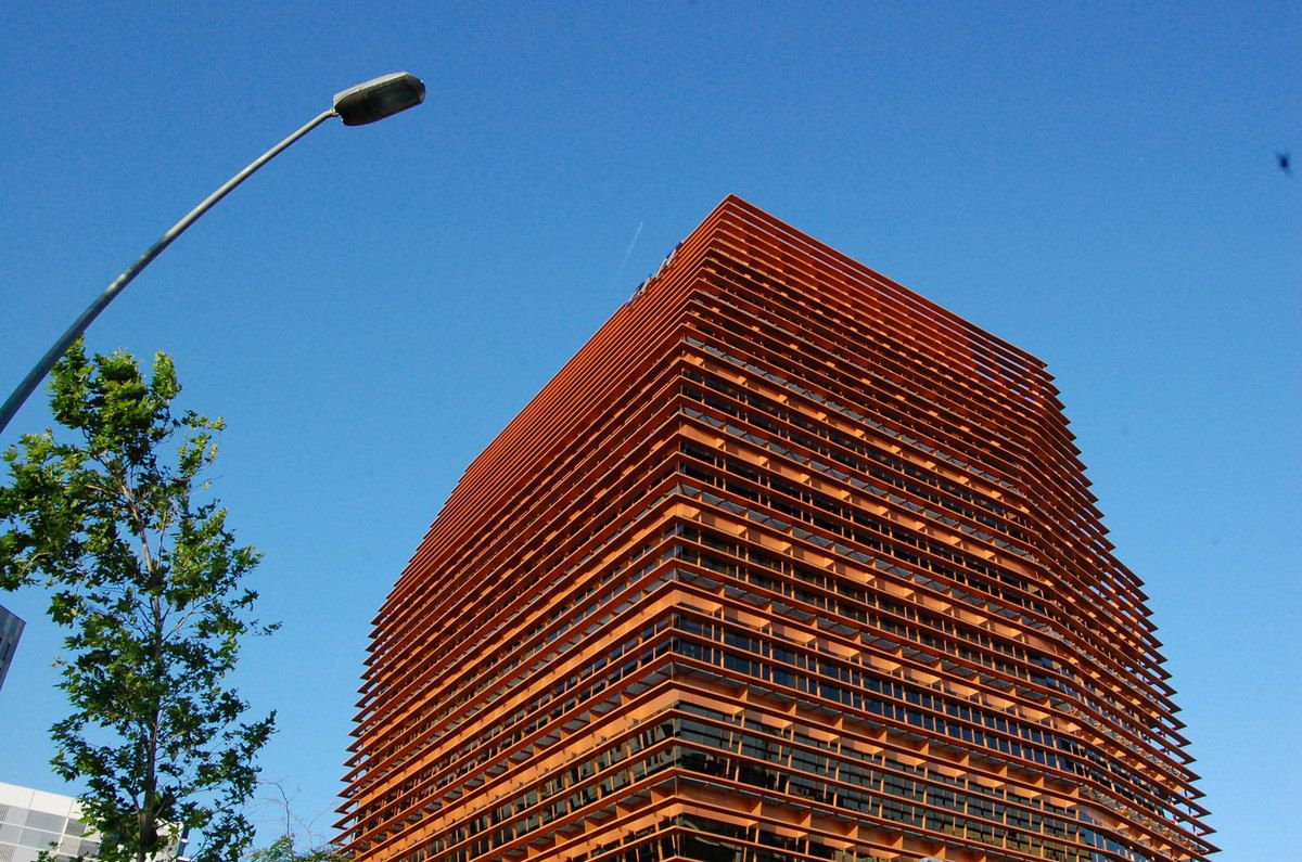CMT building (2010) designed by architecs Enric Batlle & Joan Roig - Photos: lankaart (c)