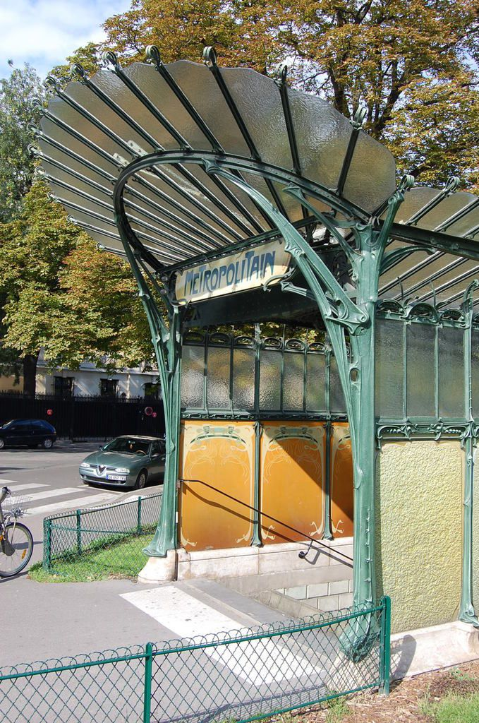 Guimard - Métro Paris - Photos: lankaart (c)