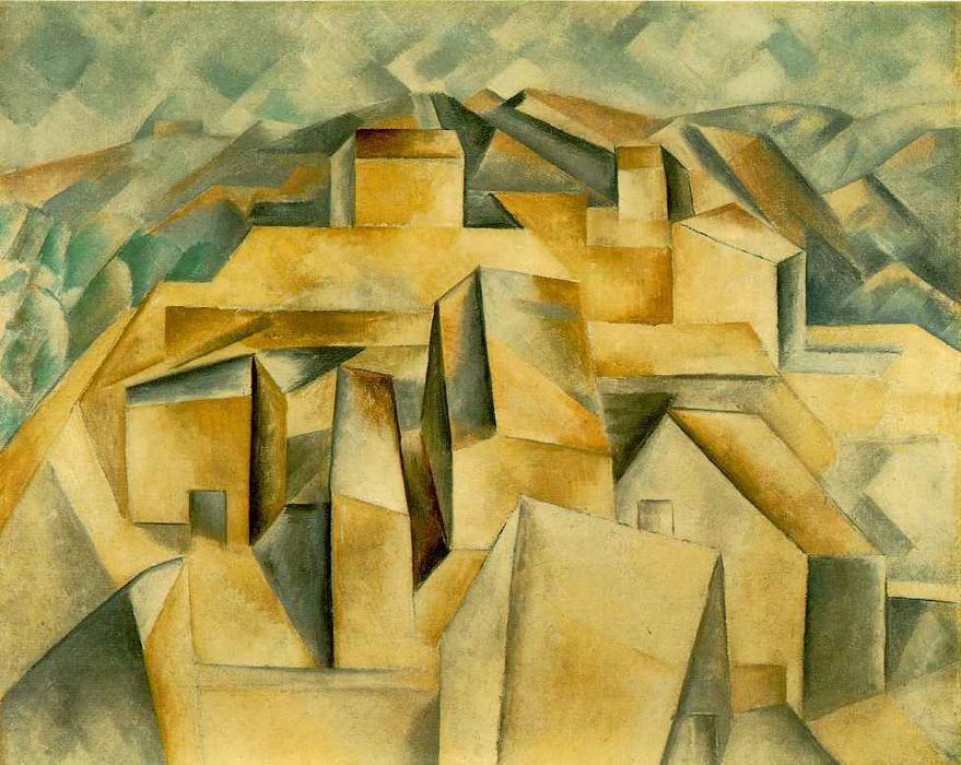 Picasso - Maisons sur la colline
