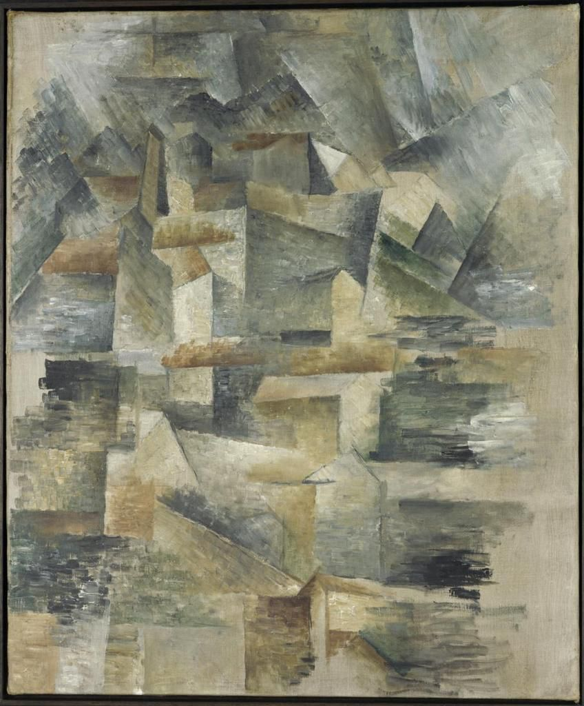 Braque - Usines du Rio Tinto à l'Estaque