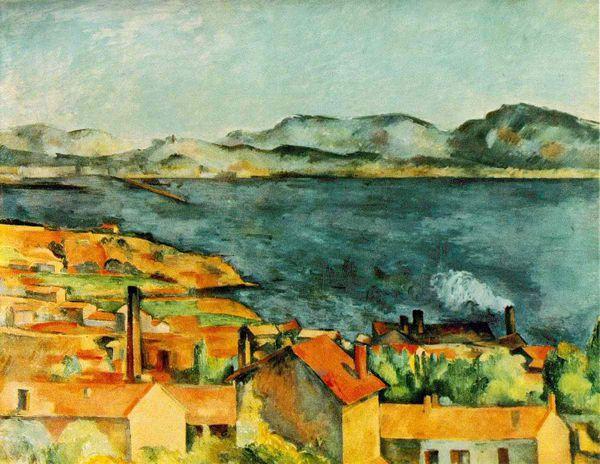 Cézanne - La baie de l'Estaque