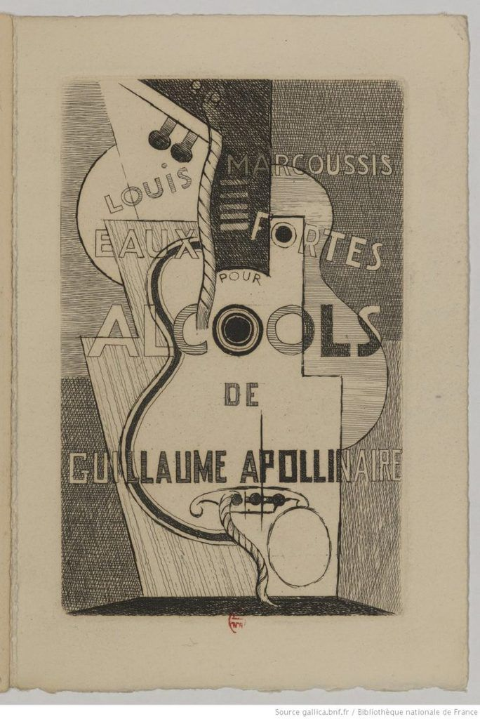 Louis Marcoussis - Apollinaire - Alcool