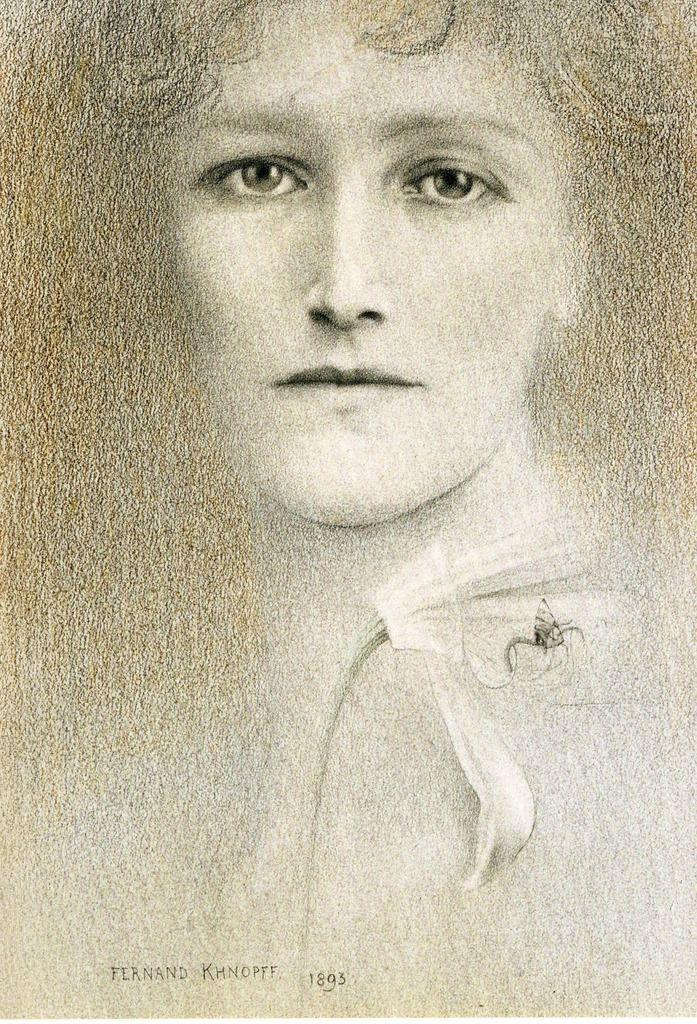 Ferdinand Khnopff - Portrait