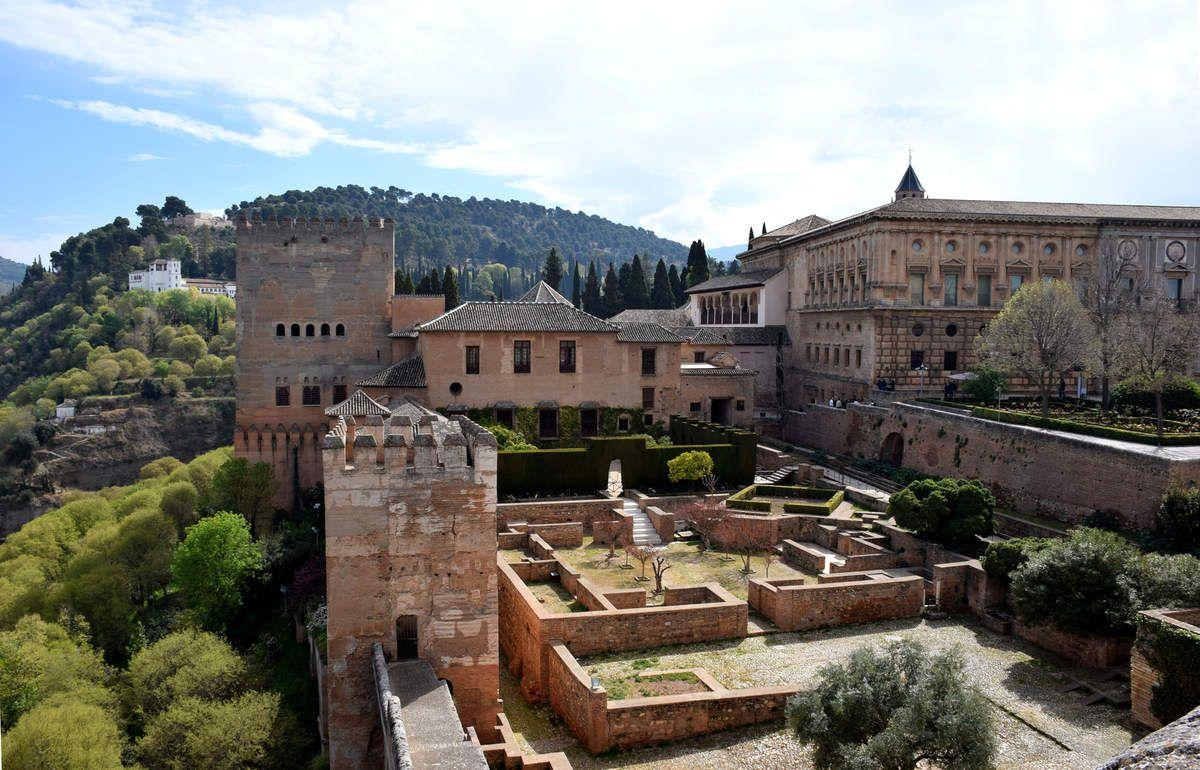 Grenade - Alhambra - Alcazaba - Photos: lankaart (c)