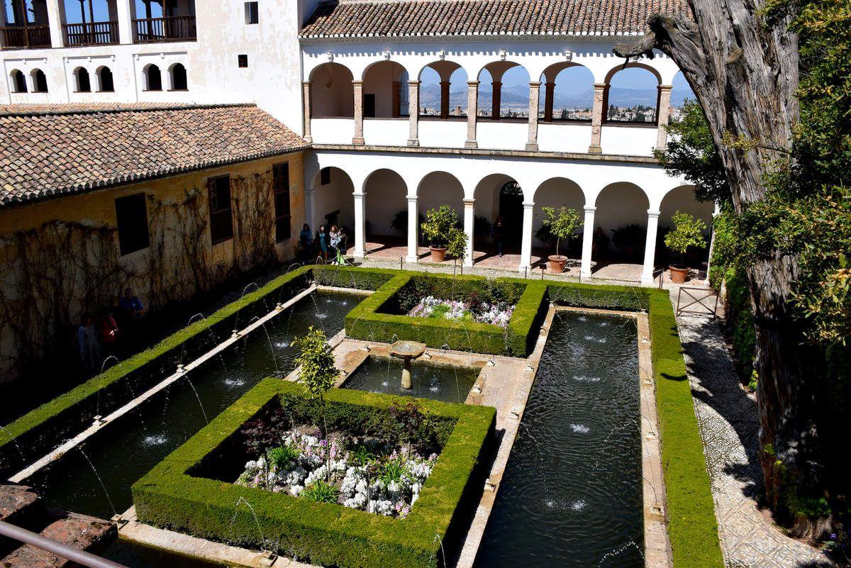 Grenade - l'Alhambra - Le Généralife - Photos : Lankaart (c)