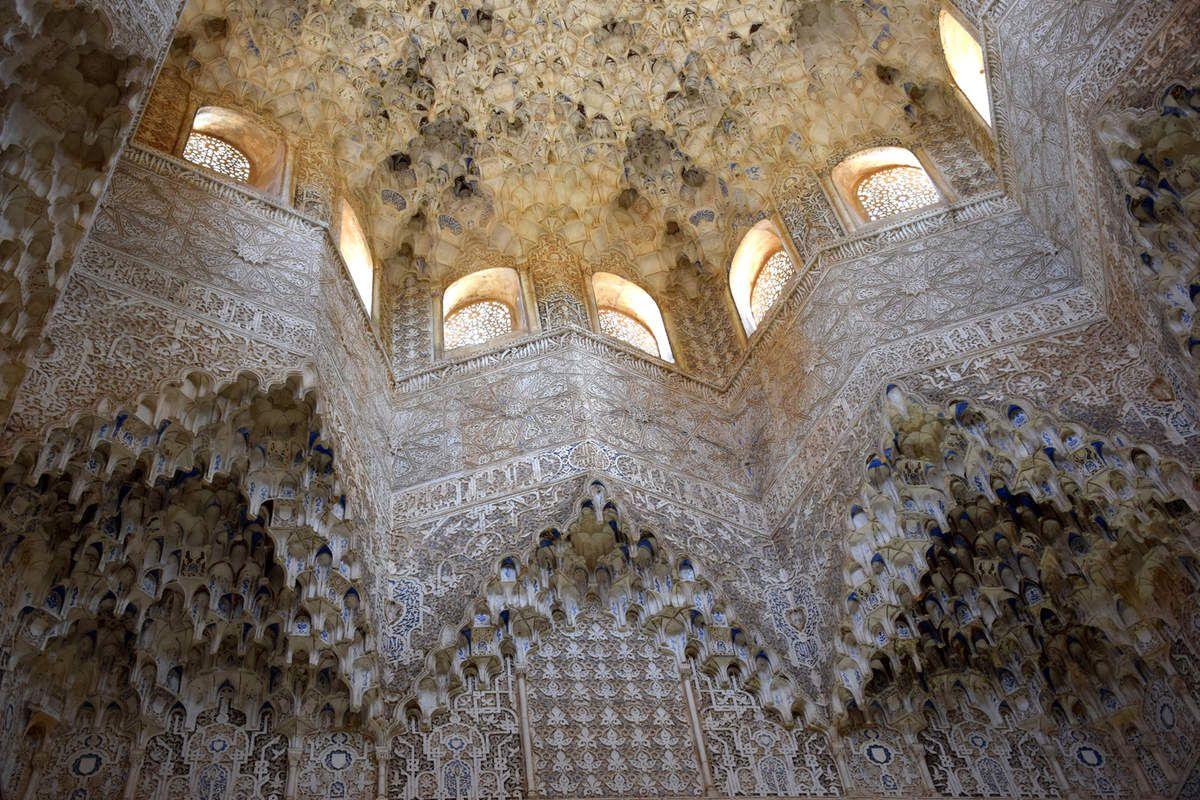 Grenade - Alhambra - Palais des Nasrides - Photos: lankaart (c)