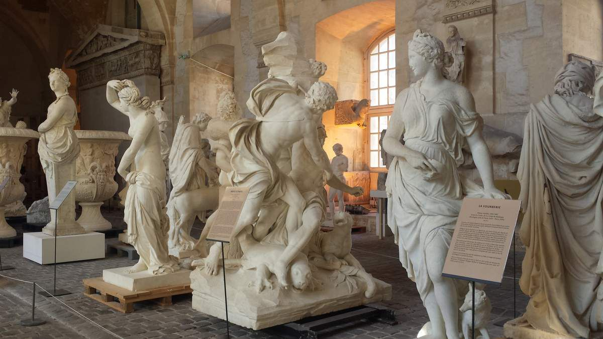 Versailles - Galerie des Plâtres - Photos Lankaart (c)