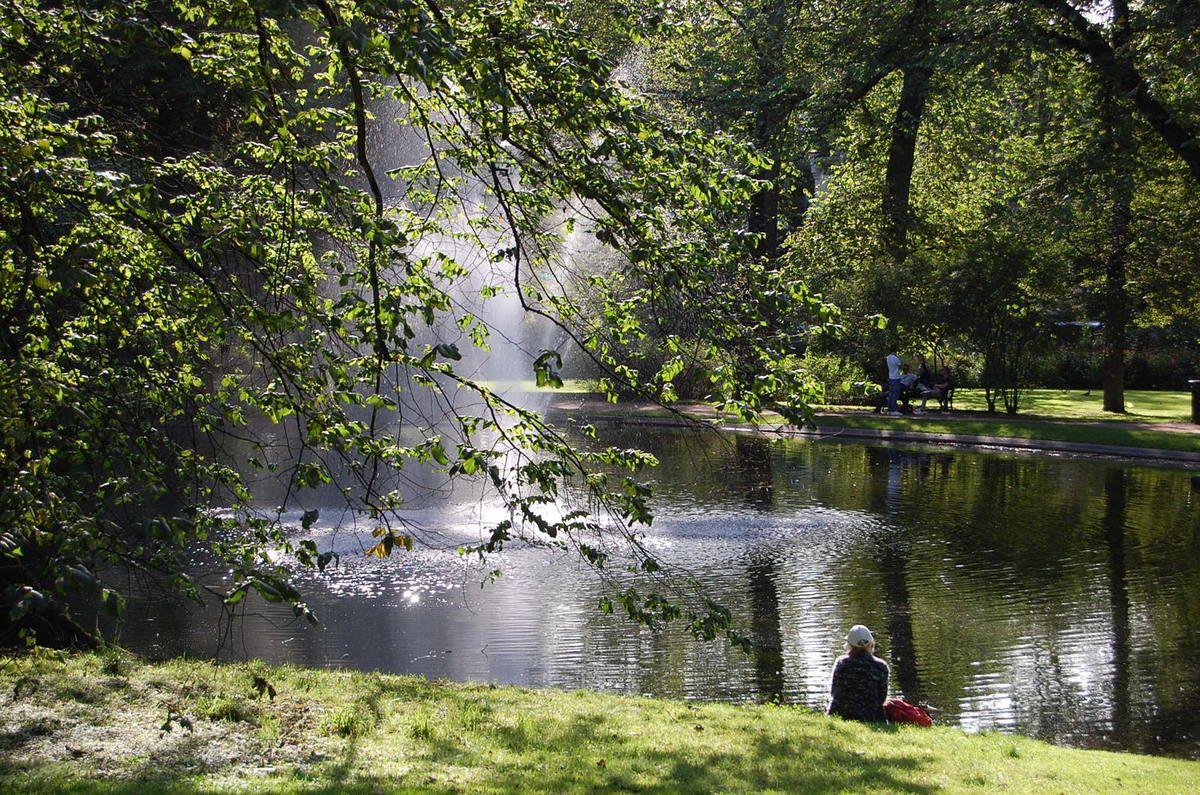 Oslo - Parc du Palais - Palace Park - Slottsparken - Photos: lankaart (c)