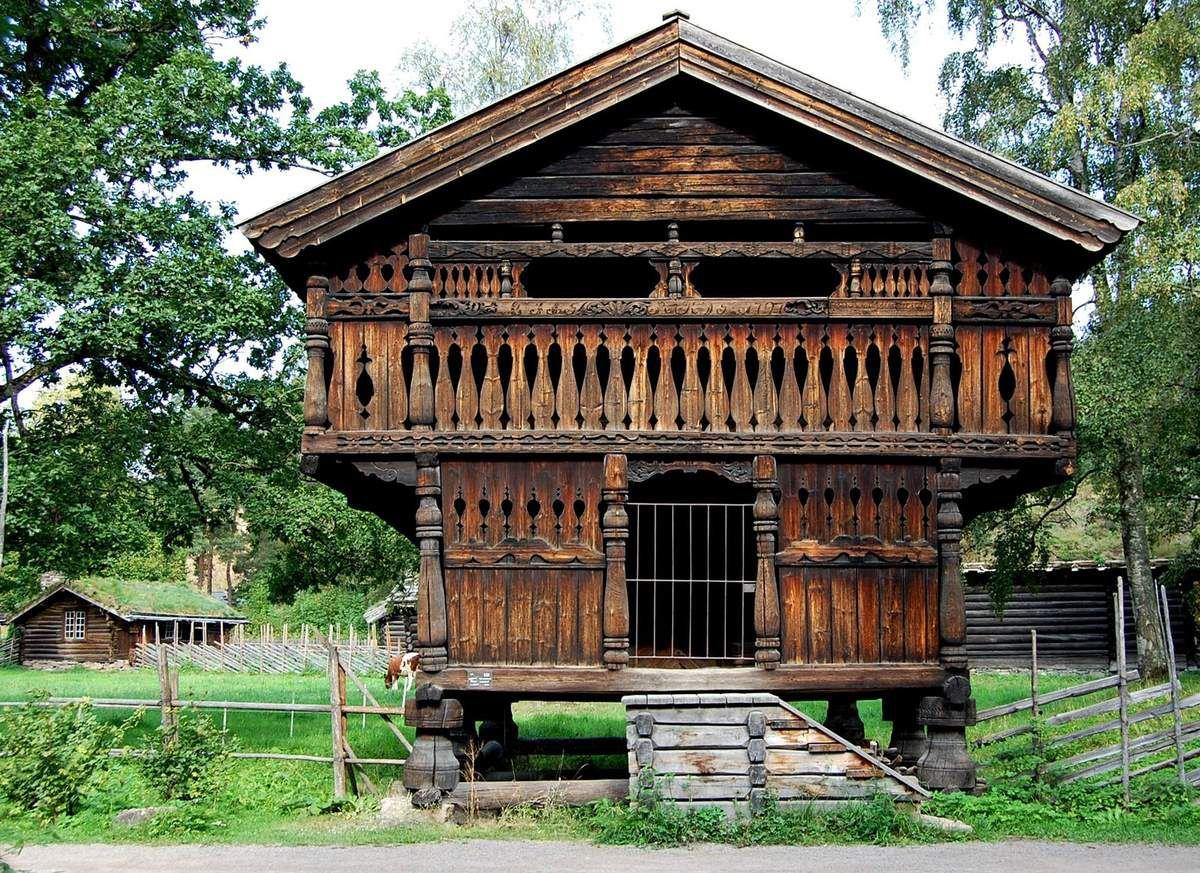 Norvège - Constructions en bois - Photos: lankaart (c)