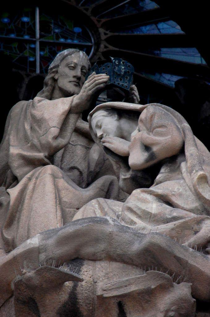 Barcelone - Sagrada Familia - Façade de la Nativité - Gaudi - Photos: Lankaart (c)
