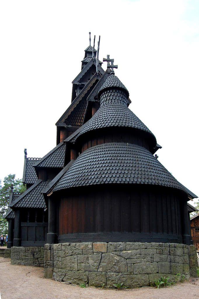 Norvège - Eglise en bois - Stavkirke - Oslo - Photos: Lankaart (c)