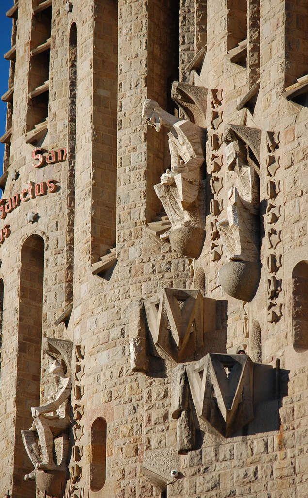 Gaudi - Josep Maria Subirachs- Sagrada familia - Façade de la Passion