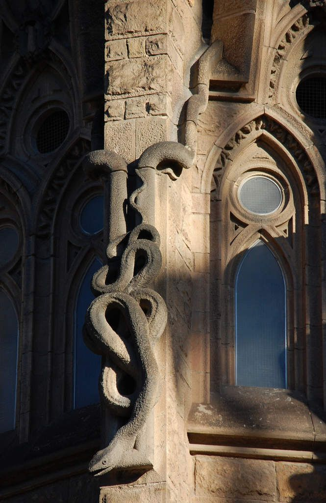 Gaudi - Sagrada Familia - Bestiaire fantastique - Photos: Lankaart (c)