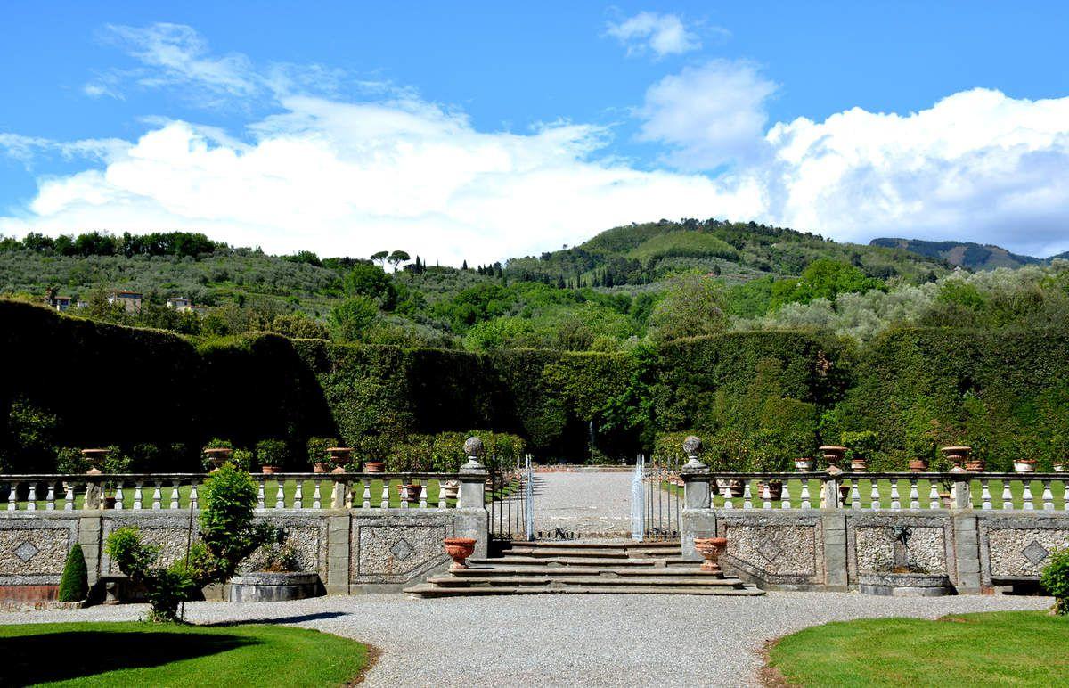 Toscane - Parc de la Villa Grabau - Photos: Lankaart (c)