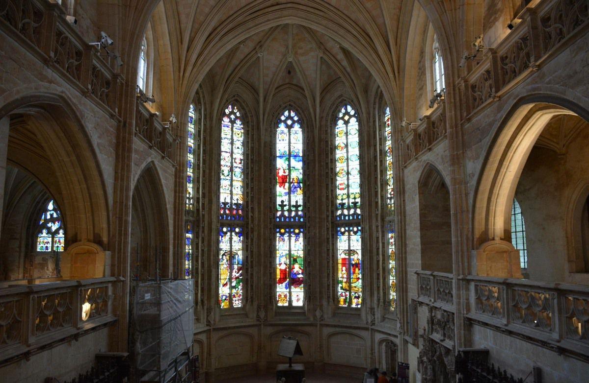 Monastère royal de Brou - Vitraux