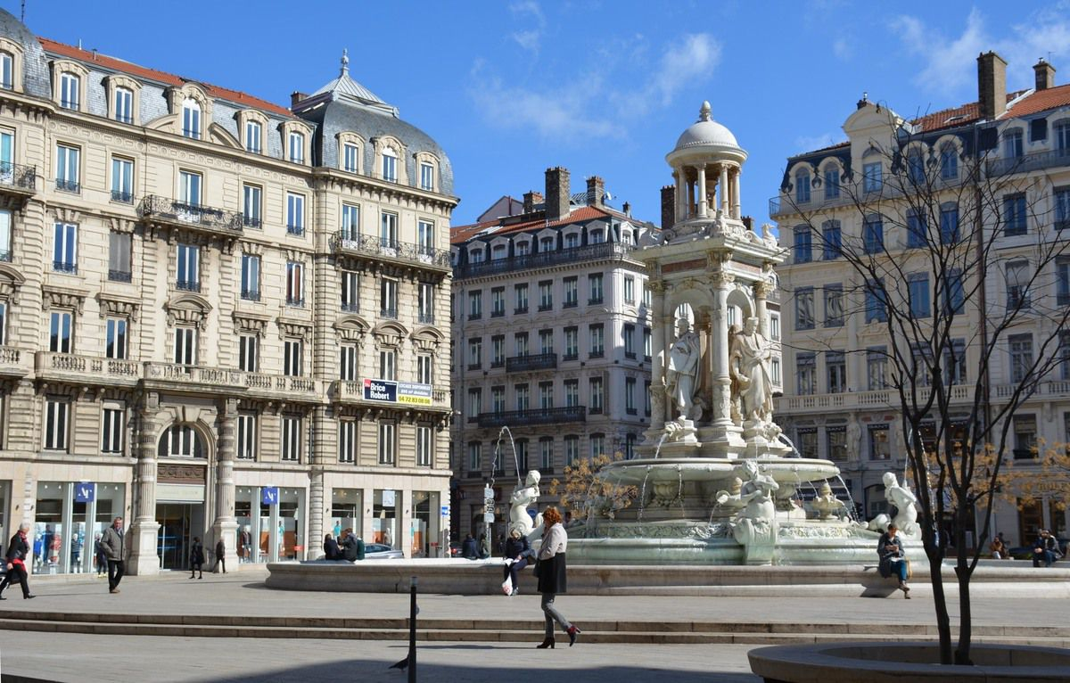La Fontaine des Jacobins - Lyon - Photos: Lankaart (c)