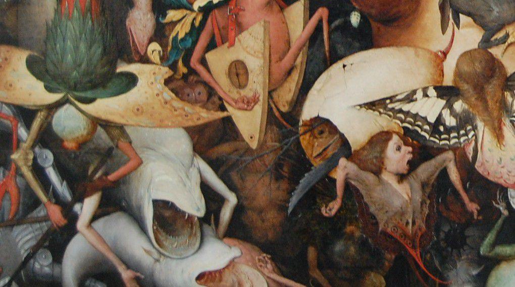 Pierre Bruegel - La Chute des Anges Rebelles
