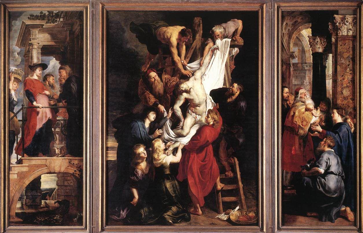 Pierre Paul Rubens - La Descente de Croix - 1612