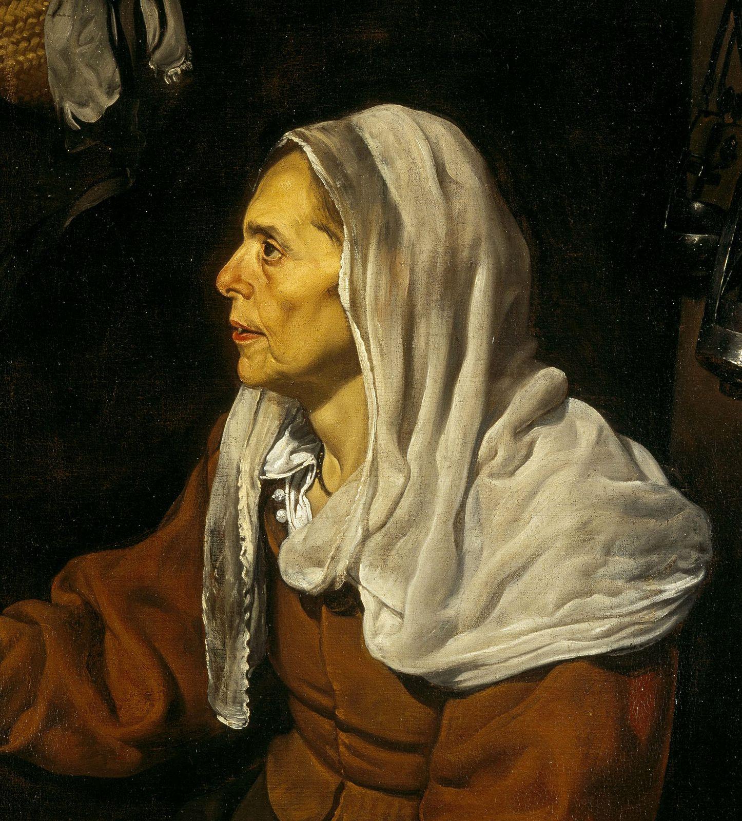 Velasquez- La femme aux oeufs