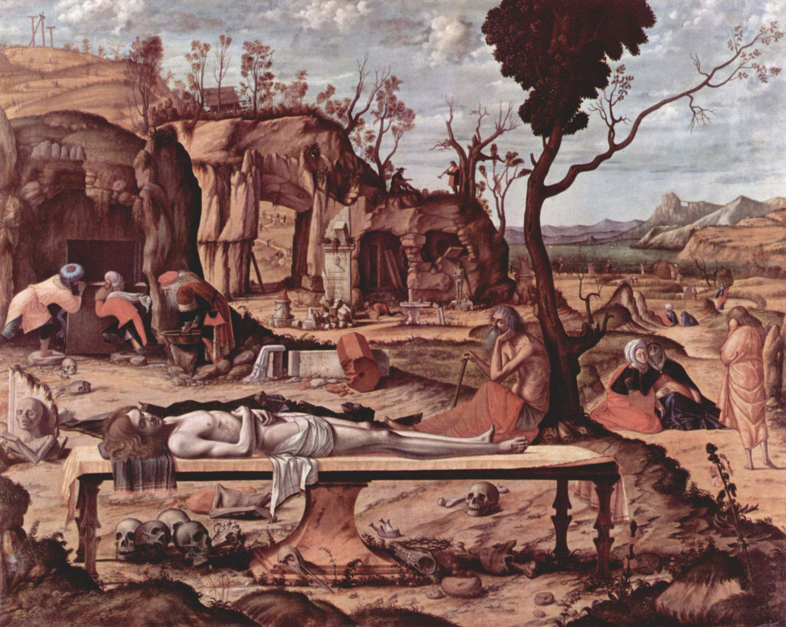 Vittore Carpaccio - Lamentation du Christ