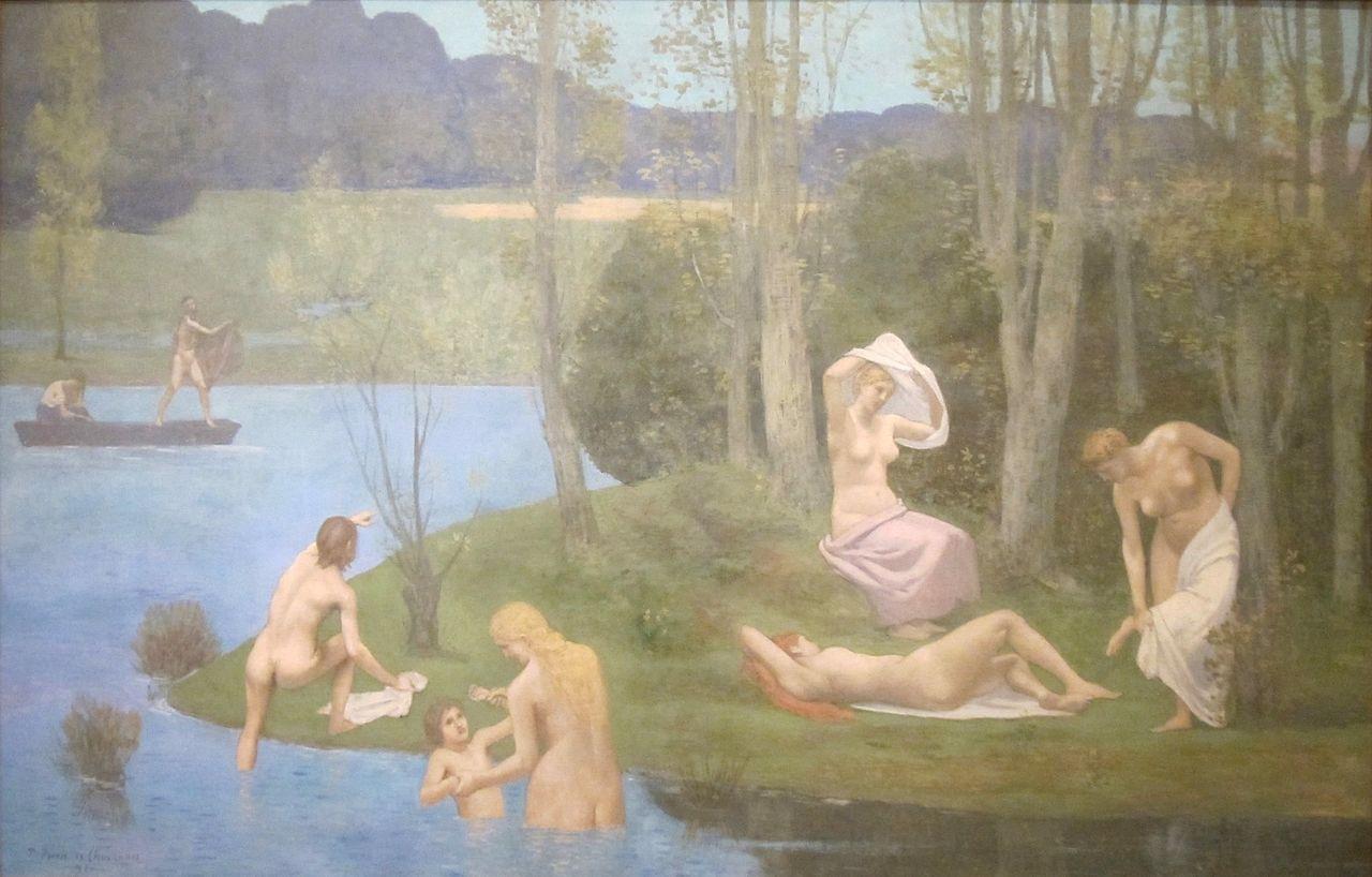 Puvis de Chavanne - l'Eté - 1891