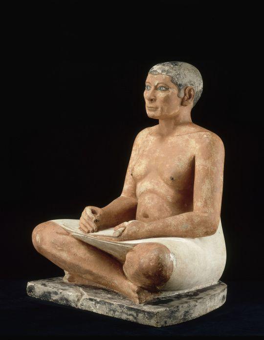 Le scribe accroupi  - Photos: Musée du Louvre
