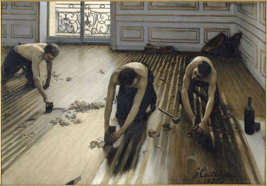 Gustave Caillebotte - Les Raboteurs de parquet