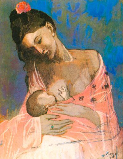 Picasso - Maternité