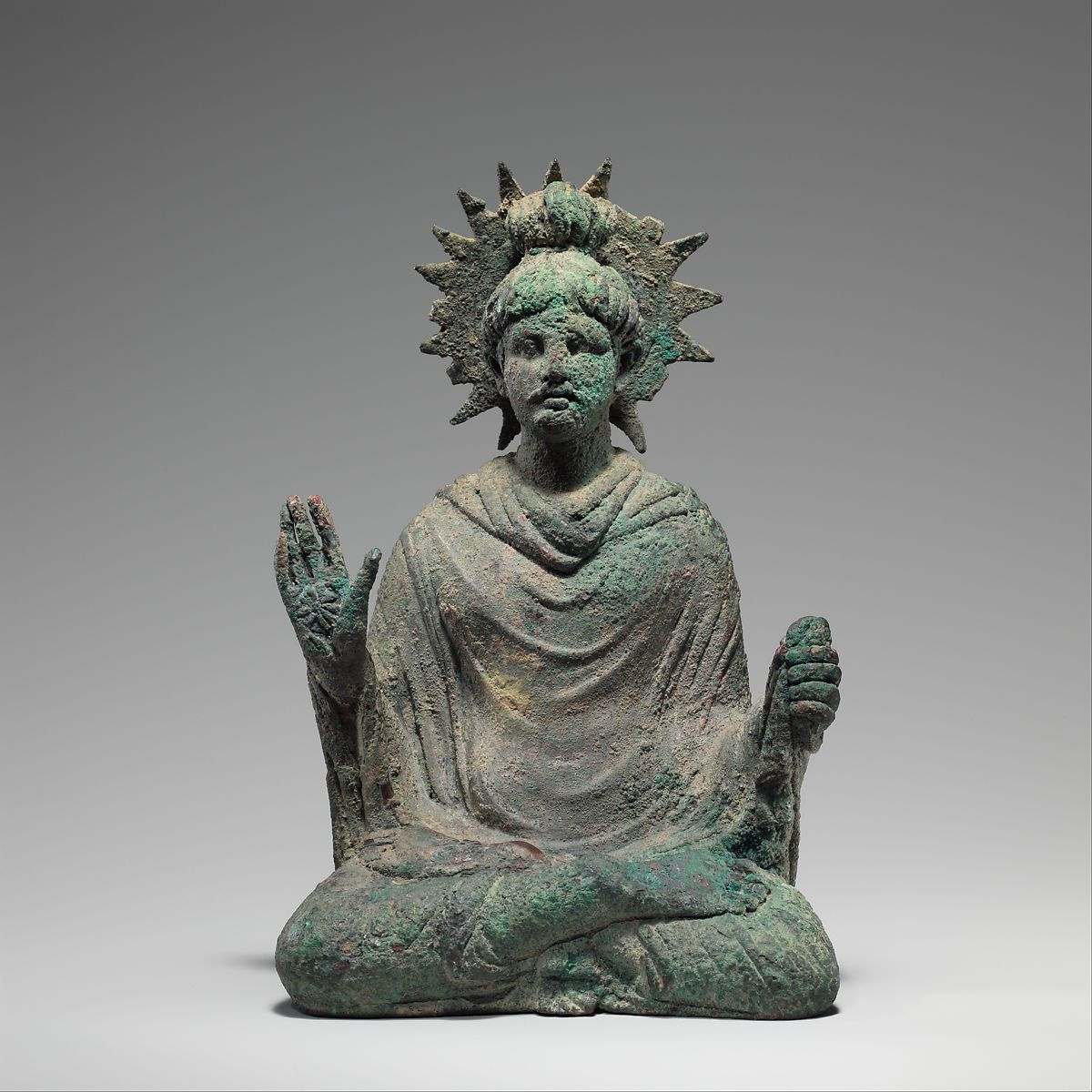 Bouddha - Gandhara - IIe siècle - Photos: The MET