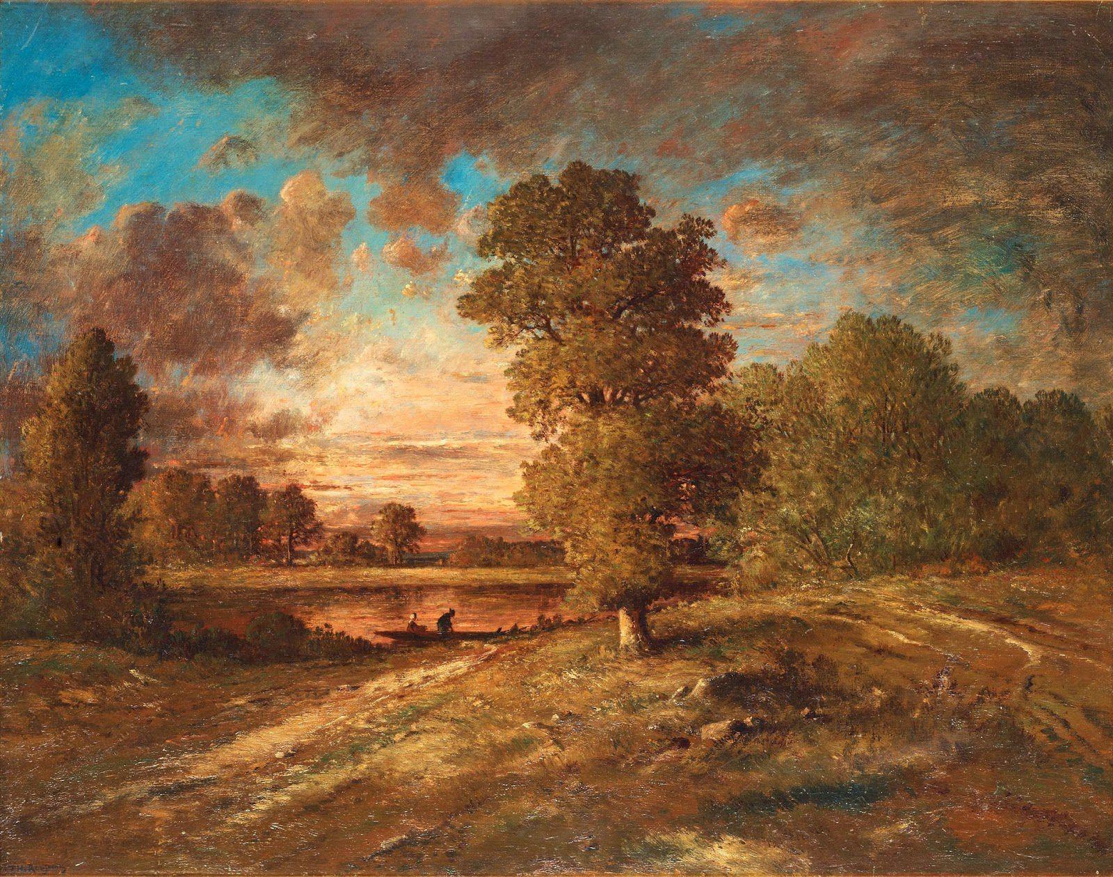Théodore Rousseau - Paysages
