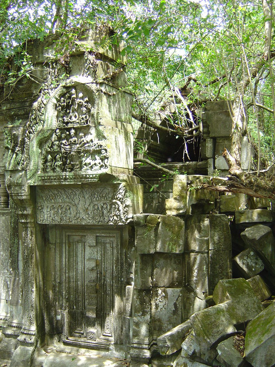Cambodge - Temple de Beng Mealea - Photos: Lankaart (c)