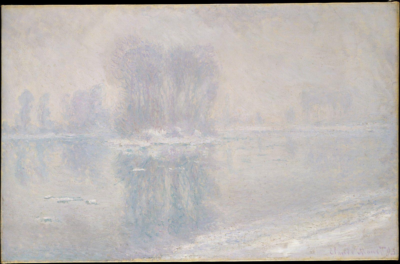 Monet - Vétheuil sous la neige