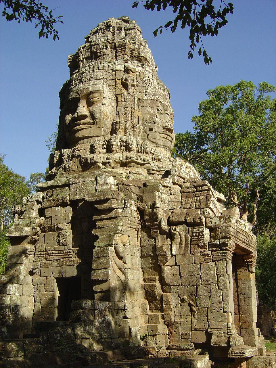 Angkor Thom - portes - Photos: Lankaart (c)
