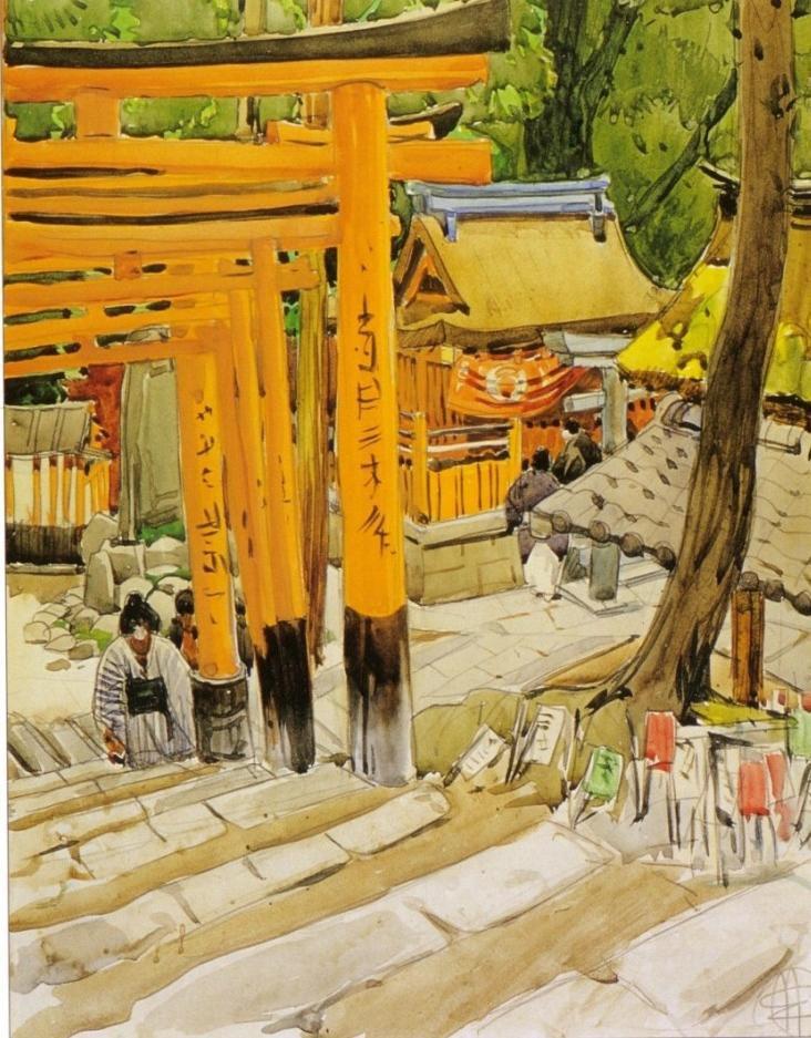 Mathurin Meheut - Japon
