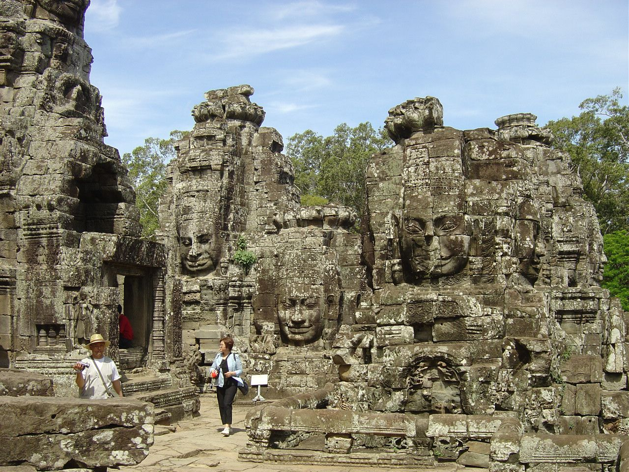 Angkor - Temple du Bayon - Photos: Lankaart (c)