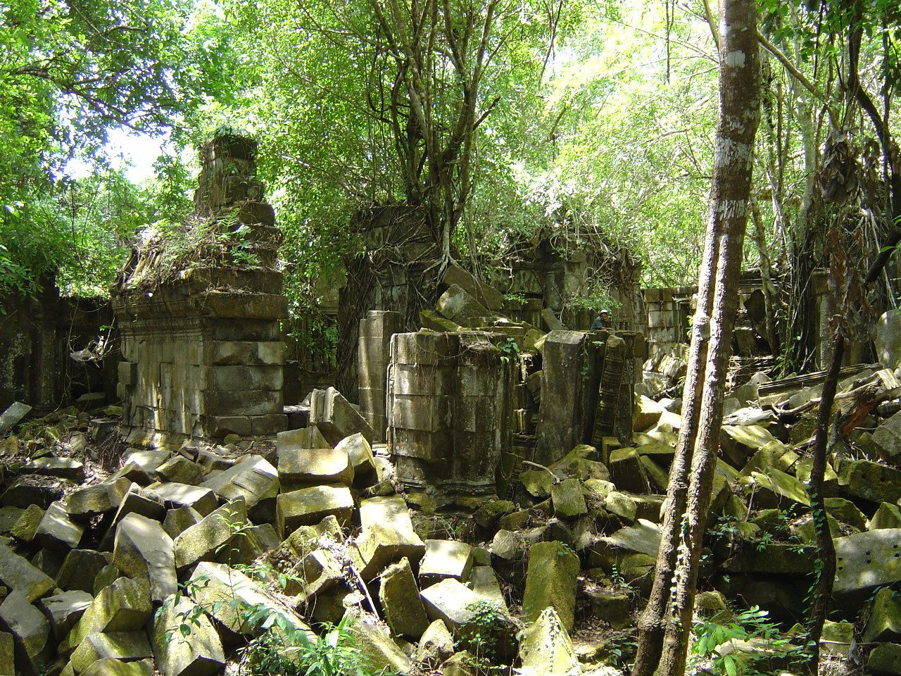 Cambodge - Temple de Beng Mealea - Photos: Lankaart (c)