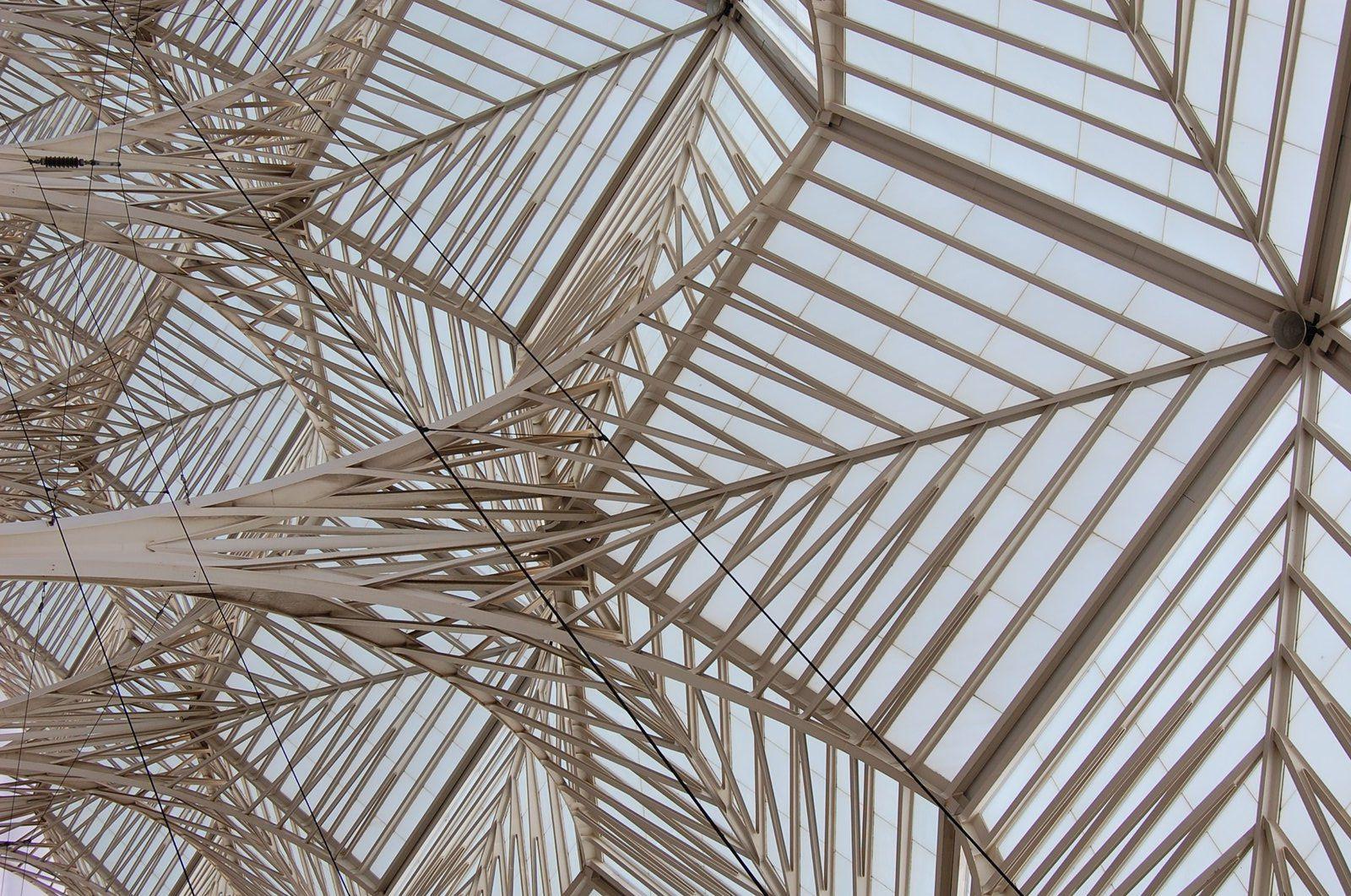 Santiago Calatrava - Gare d' Oriente Lisbonne - Photos: Lankaart (c)