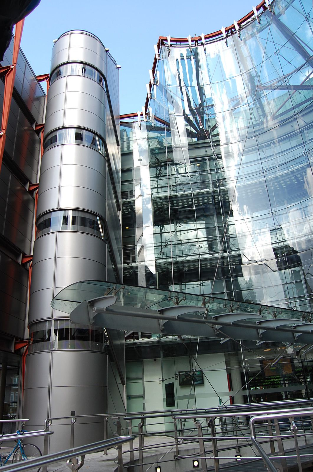 Richard Rogers - Channel 4 Londres - Photos: Lankaart (c)