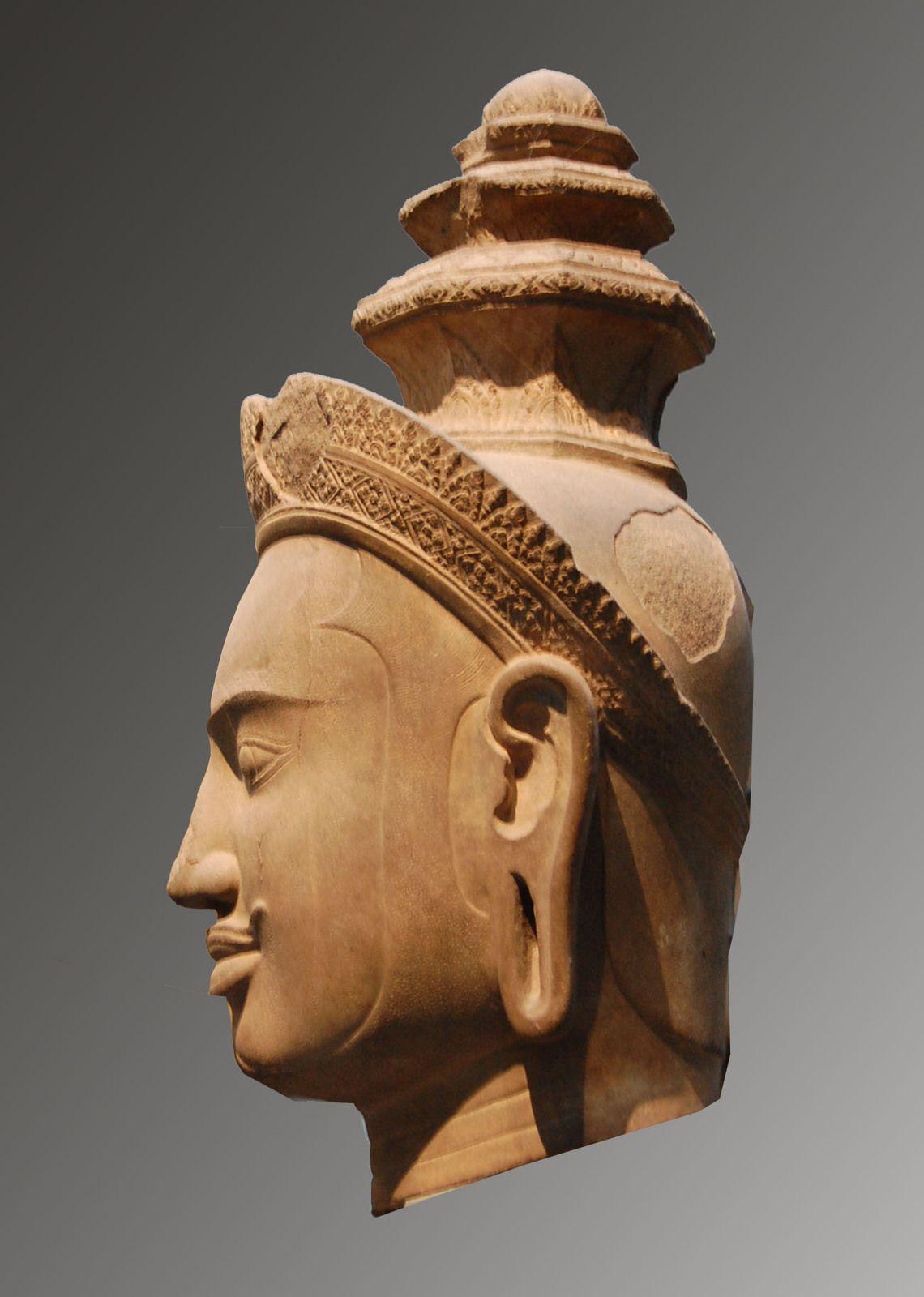 Visnu - Angkor - Musée Guimet - Photos: Lankaart (c)