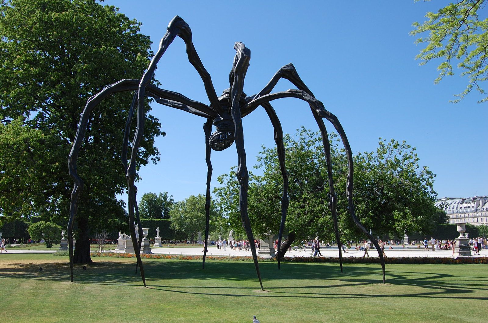 L'araignée géante de Louise Bourgeois - Photos: Lankaart (c)