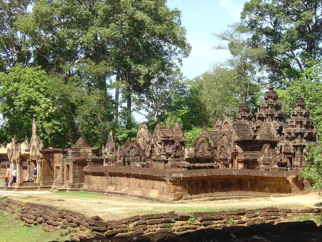 Temple de Banteay Srei - Photos: Lankaart (c)
