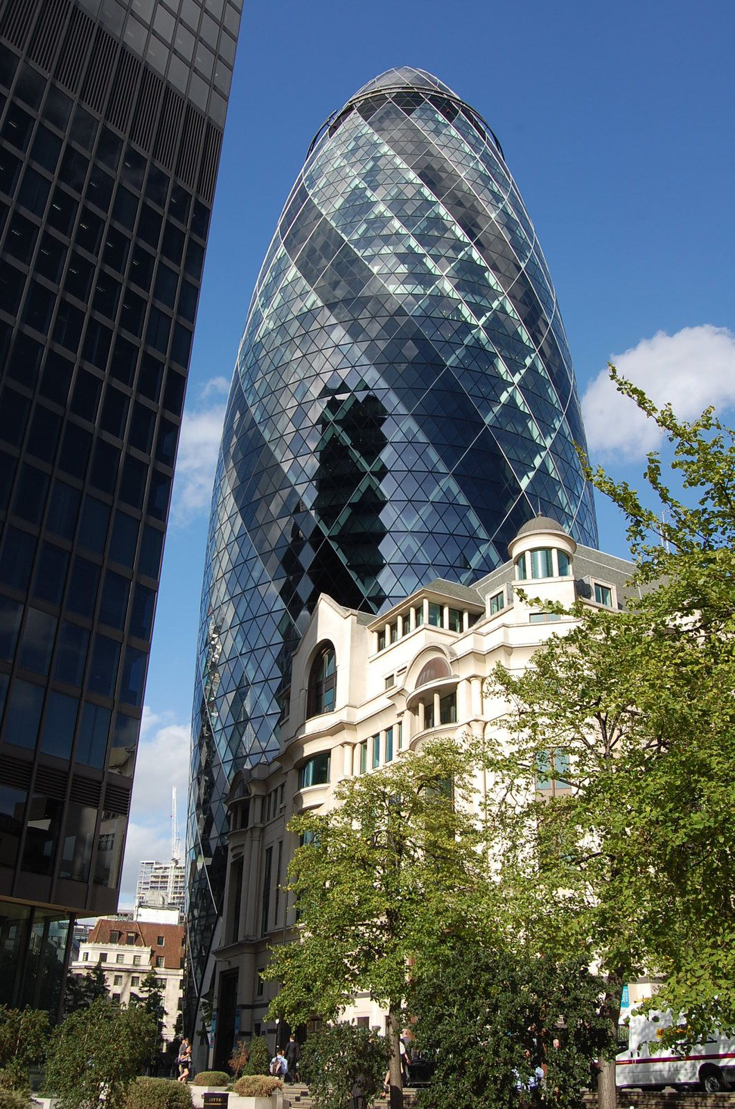 Norman Foster - Tour Sainte Mary Axe Londres - Photos: Lankaart (c)