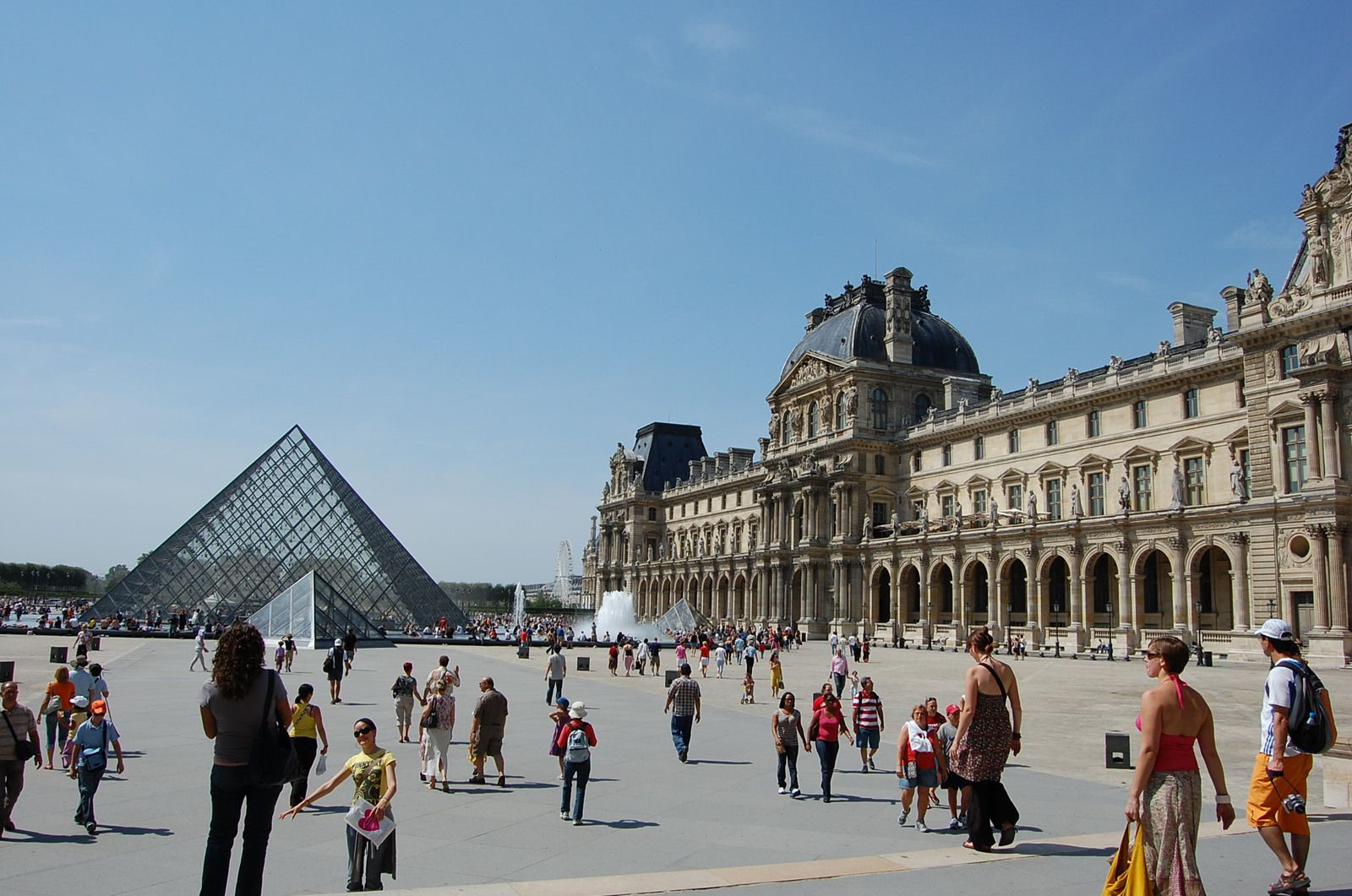Pei - Pyramide du Louvre - paris - Photos: Lankaart (c)