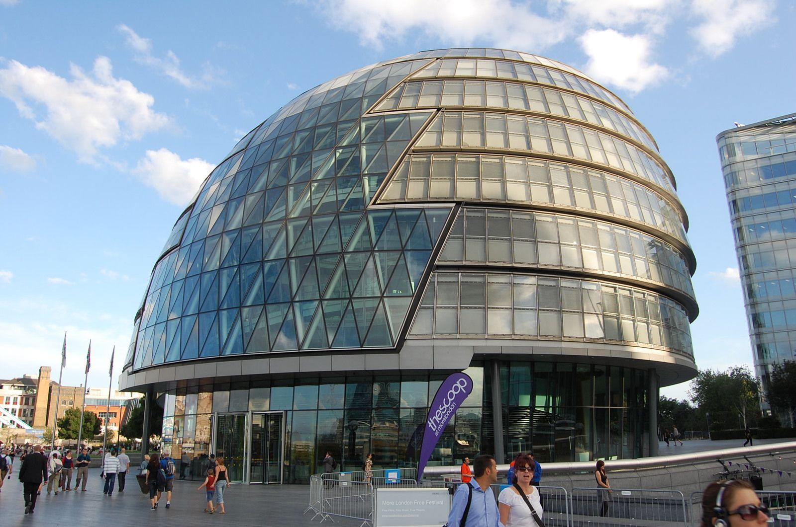 Foster - City Hall Londres - Photos: Lankaart (c)