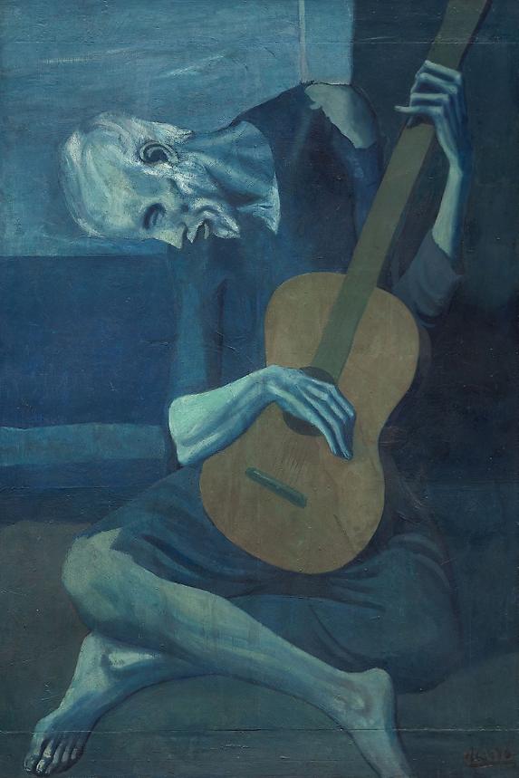 Picasso - Le vieux guitariste