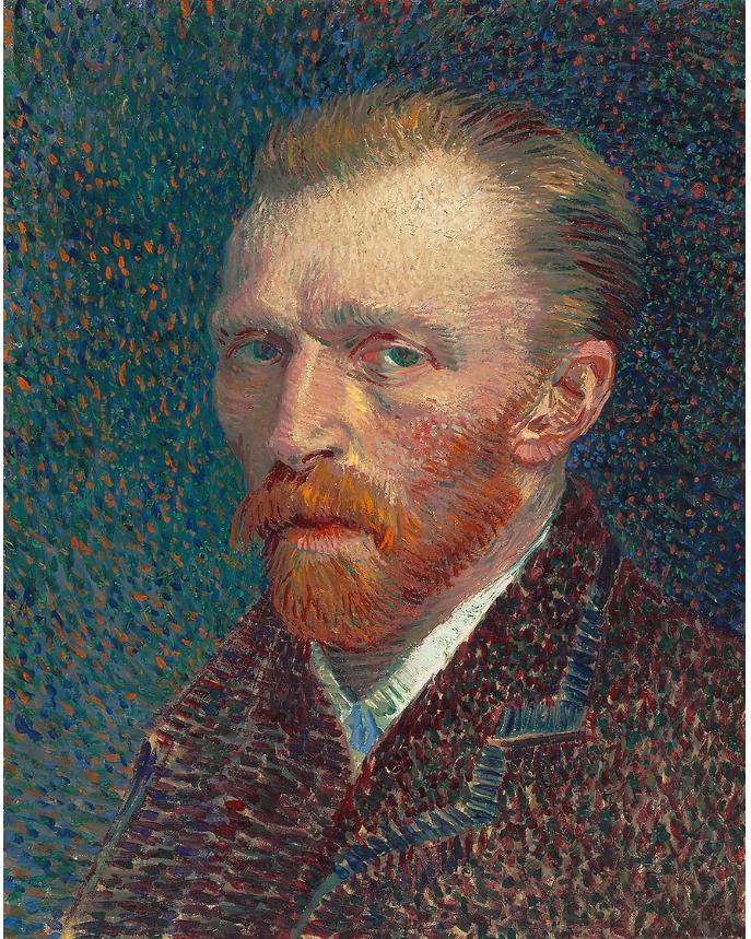 Van Gogh - Autoportrait - Art Institute Chicago