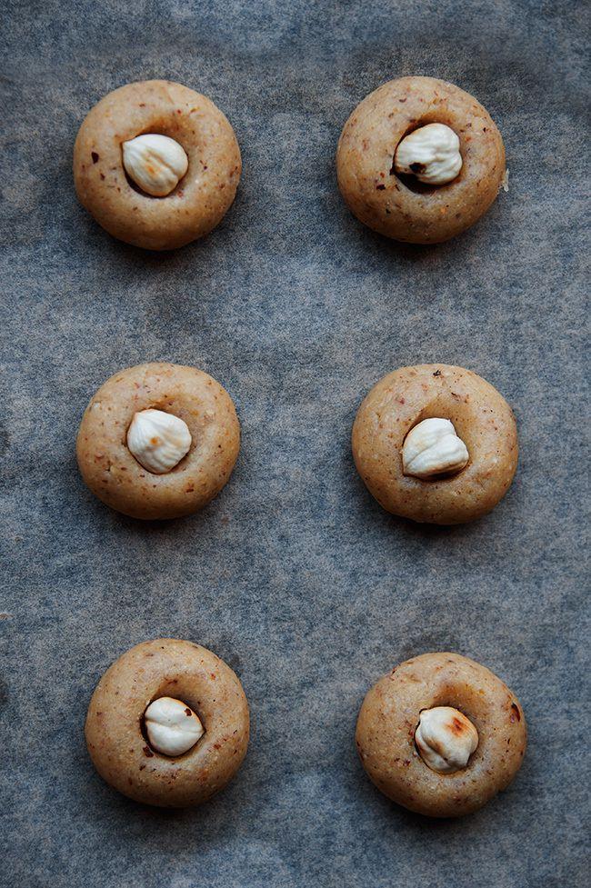 Biscuits sablés à la noisette - recette facile